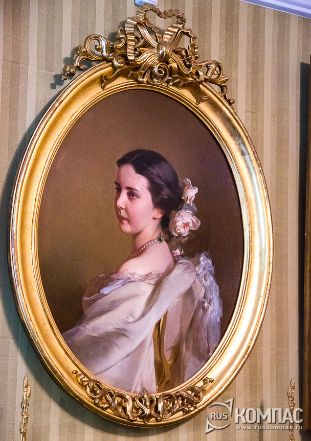 Портрет дочери Фёдора Тютчева Екатерины