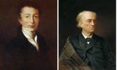 Портрет Фёдора Ивановича Тютчева в 1810 и 1840-х гг.