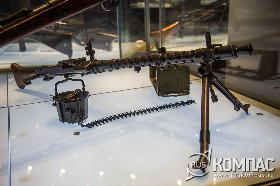Пулемет ручной МГ-34, Германия Берлин 1937 год