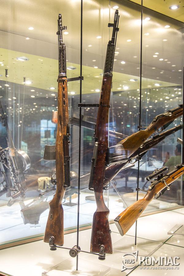 Винтовка автоматическая Токарев (АВТ-40), винтовка самозарядная Токарева (СВТ-40)