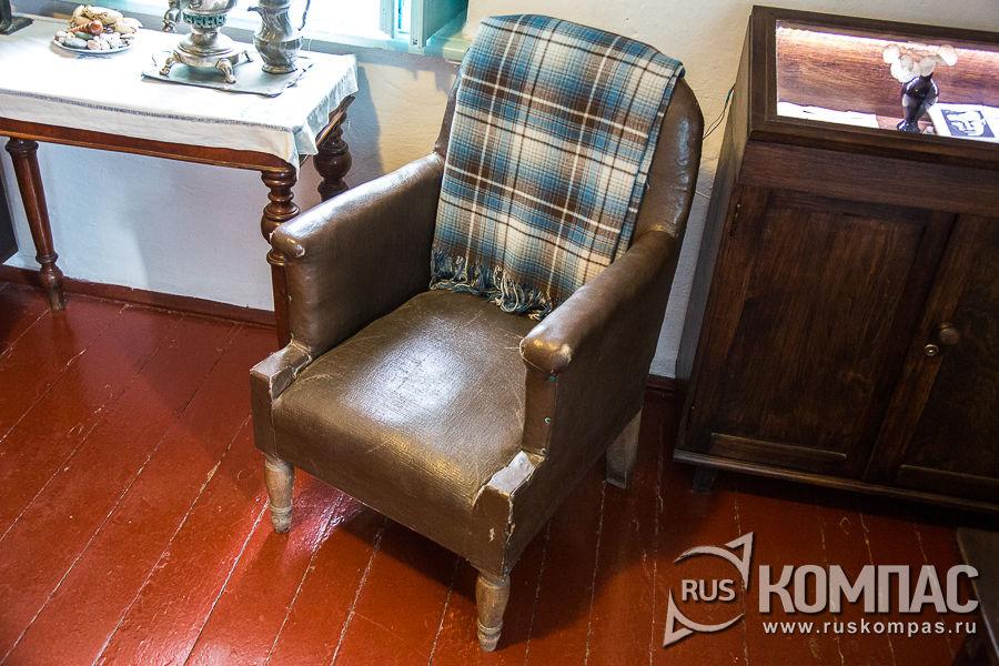 Кресло, в котором работал писатель