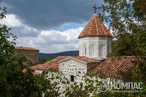 Старый Крым: армянский монастырь Сурб Хач
