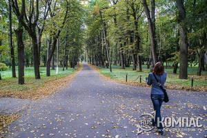 В парке усадьбы Архангельское