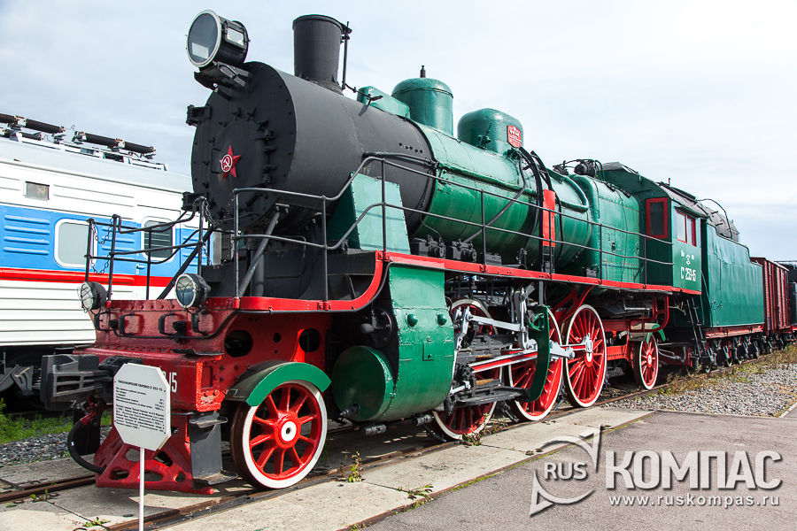 Пассажирский паровоз Су 253-15, 1950 год Завод Красное Сормово Россия