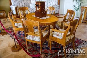 Ленинские Горки: интерьеры главного дома