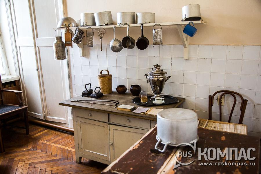Кухня в кремлевской квартире Ленина