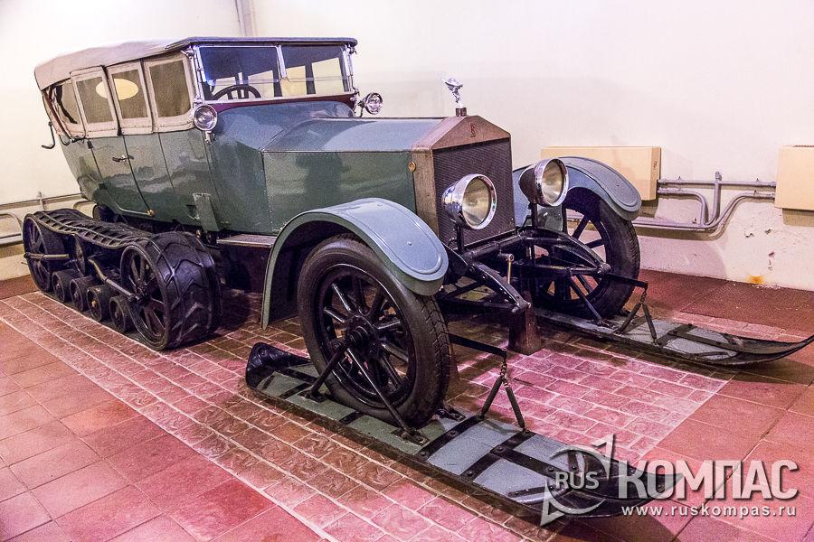 Роллс-ройс «Silver Ghost» 1916 года выпуска