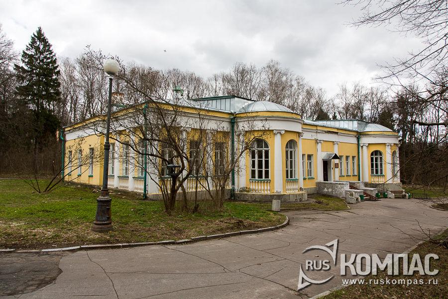 Здание купеческой дачи 1902 года постройки, где разместился музей «Кабинет и квартира В.И. Ленина в Кремле»