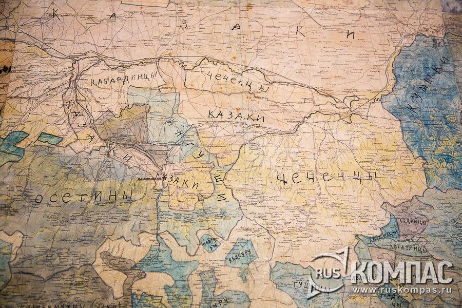 Карта создания союзного государства и границ на Кавказе