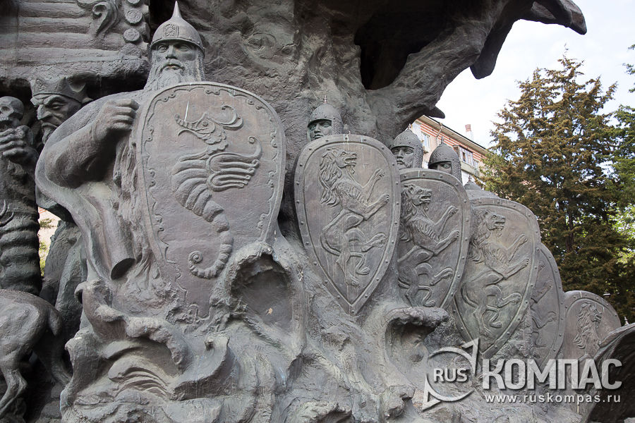 Богатыри на «Дерево сказок»