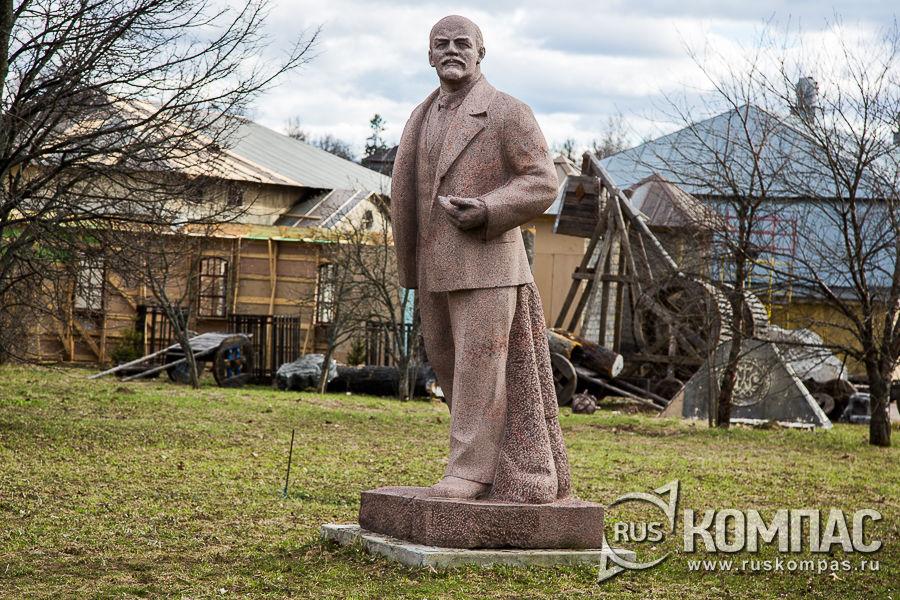 В.И. Ленин, скульптор Меркуров С.Д., 1939 год