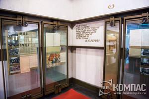 Вводный зал музея В.И.Ленина посвящен Октябрьской революции