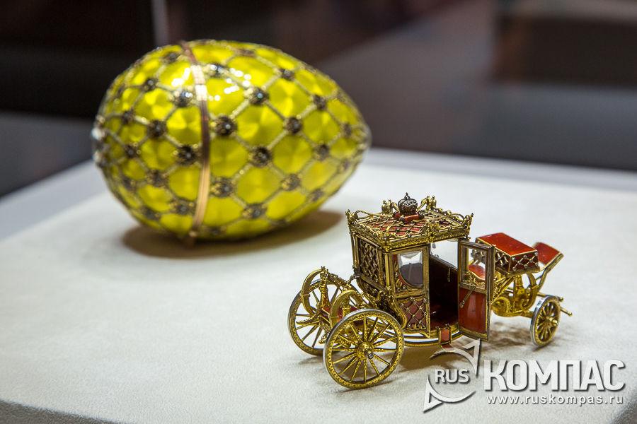 Сюрприз «Коронационного» яйца, изготовленный мастером фирмы Фаберже Георгом Штайном, 1897 год