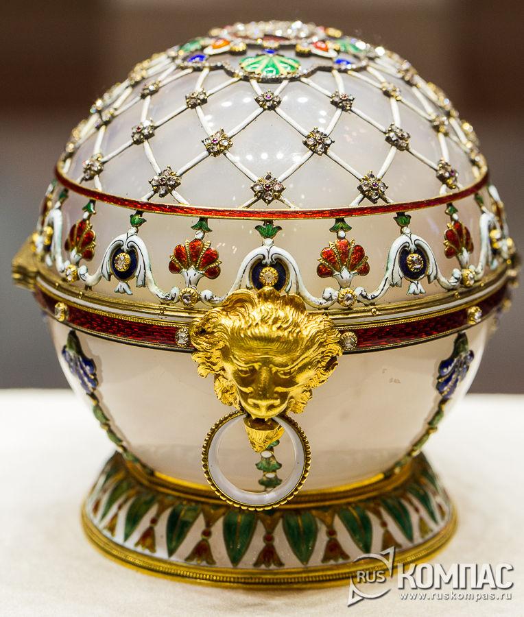 Пасхальное яйцо-шкатулка «Ренессанс», 1894 год
