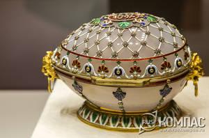 Музей Фаберже в Санкт-Петербурге: пасхальные яйца фирмы Карла Фаберже