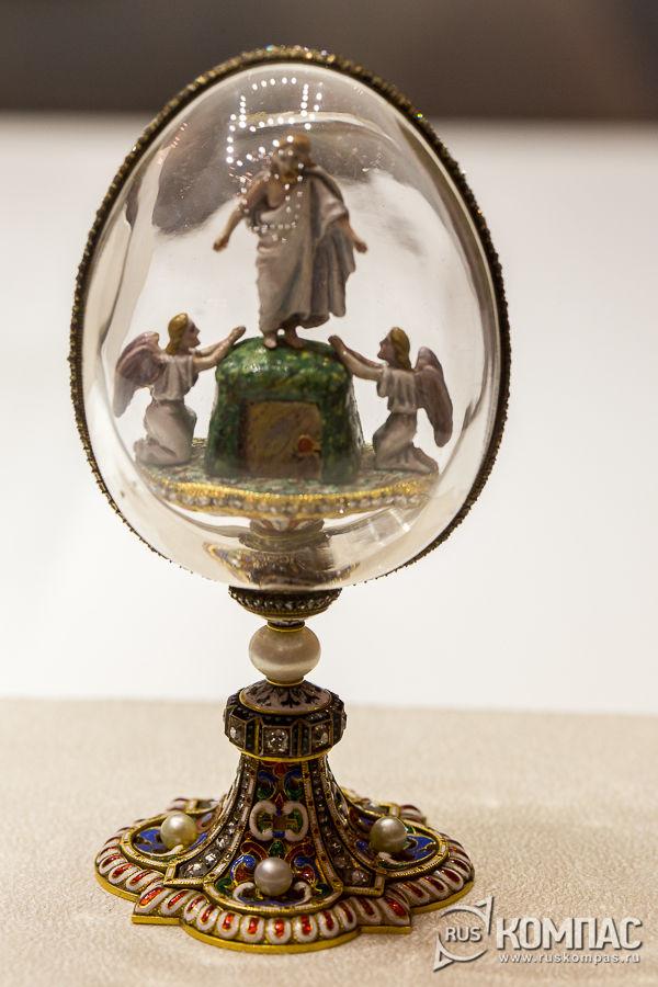 Пасхальное яйцо «Воскресение Христово» - предположительный сюрприз яйца «Ренессанс»