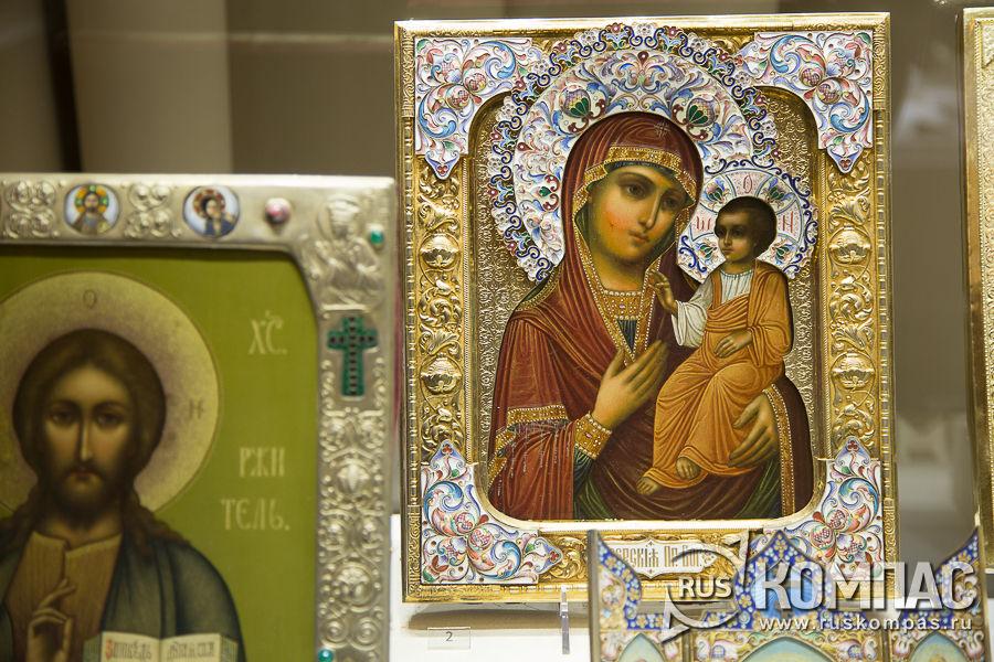 Икона Богоматерь Иверская, фирма О. Курлюкова, Москва, 1899–1908 гг.