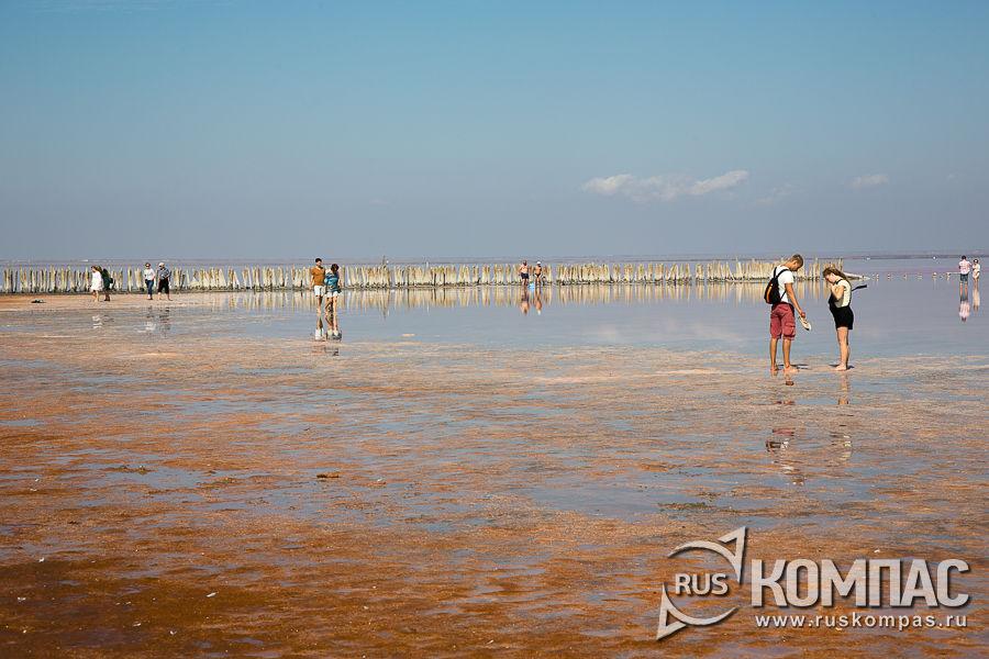 Сюда приезжают и туристы, и сами крымчане