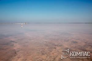 Озеро Сасык-Сиваш - самое большое в Крыму