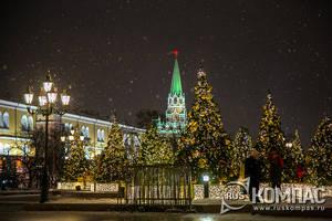Москва. «Путешествие в Рождество 2019»
