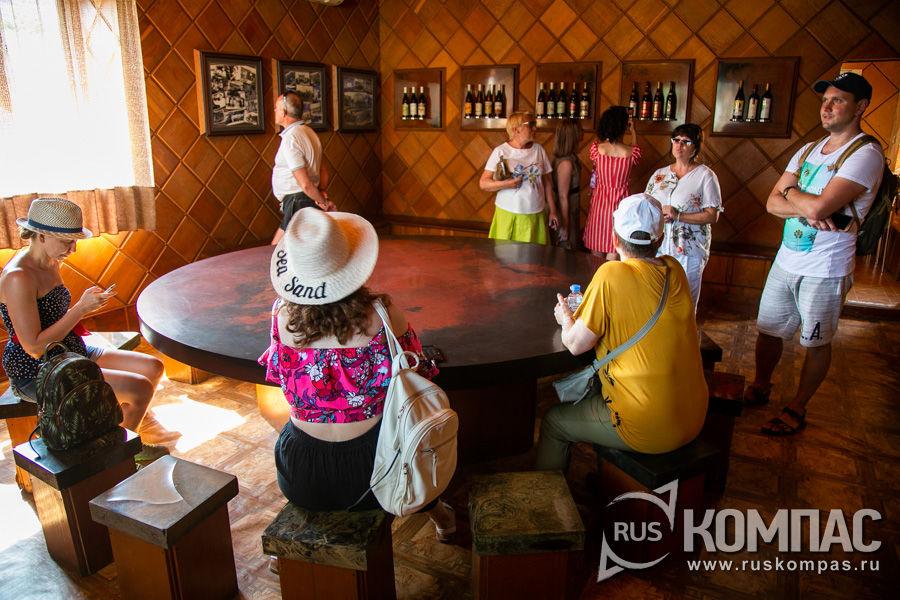 Дегустационный зал винзавода, построенный к приезду Брежнева