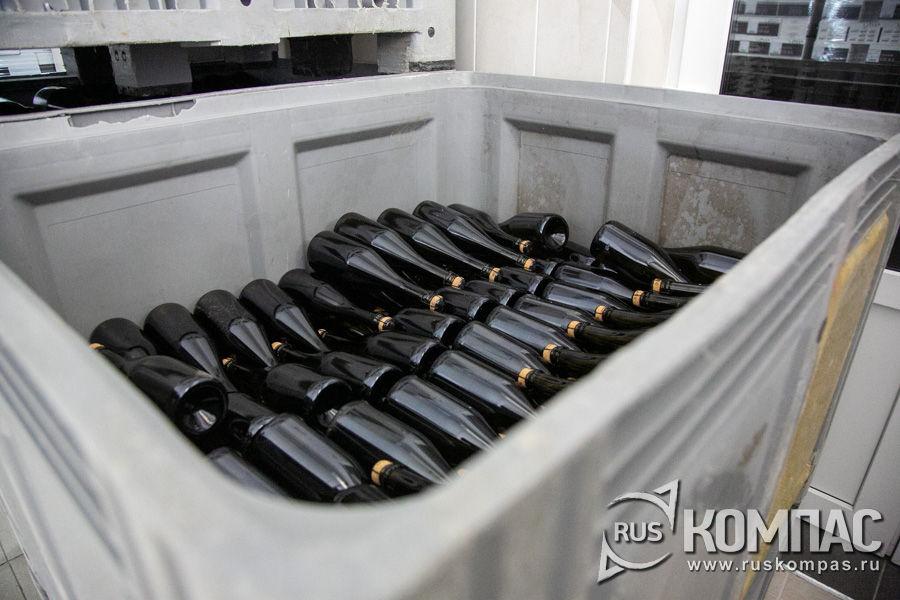 Ящики для транспортировки игристых вин