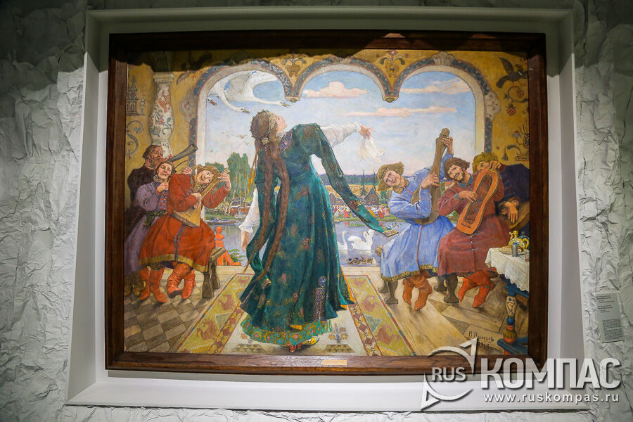 «Царевна-лягушка» Васнецов, 1901-1918 гг.