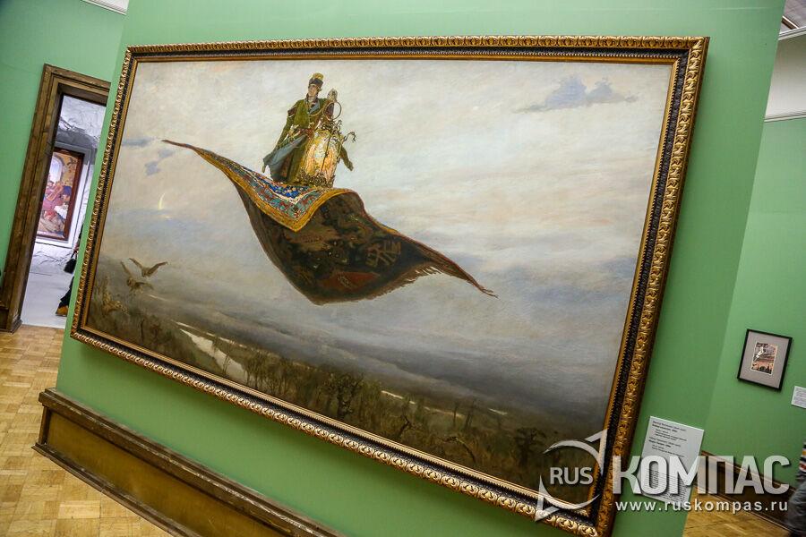 «Ковер-самолет» Виктор Васнецов,