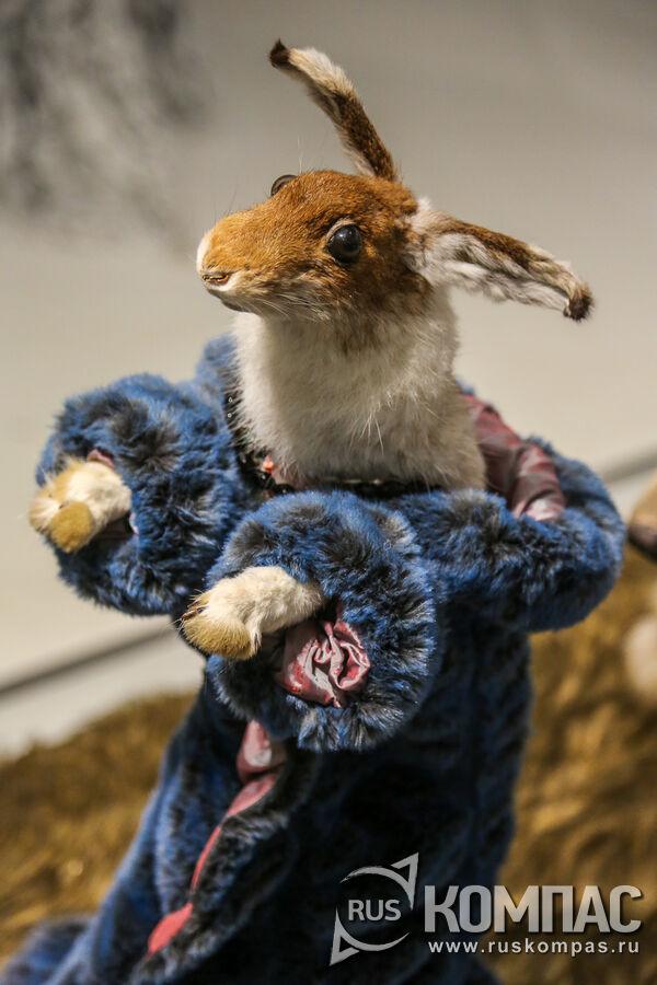 Заяц-хваста в кафтане