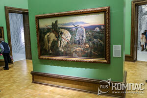 «Витязь на распутье» Виктор Васнецов, 1878-1881гг.