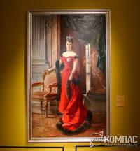 Портрет императрицы Марии Федоровны, урожденной Марии Софии Фредерики Дагмар, автор Франсуа Фламенг, 1894 г.