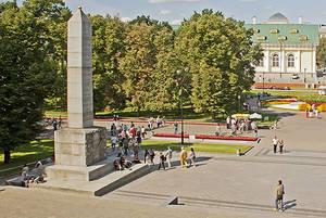Мэрия Москвы испохабила исторический памятник в Александровском саду