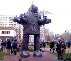 Памятник Громозеке в Нижнем Новгороде