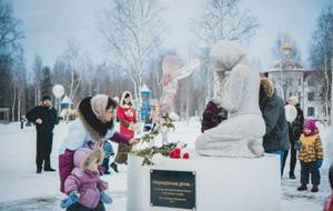 Сургутяне поставили памятник нерожденным детям
