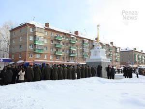 В Пензе открыт памятник героям блокадного Ленинграда