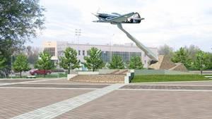 Памятник легендарному самолету героя Выборнова появится в Кашире
