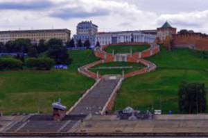 В Нижнем Новгороде отремонтируют Чкаловскую лестницу