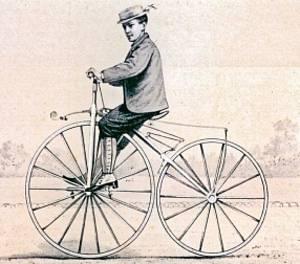 В Ставрополе появился памятник первому велосипеду