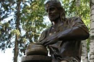 В Белгородской области открыли памятник гончару