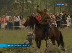 В Ленинградской области состоялась реконструкция одного из боев Первой мировой