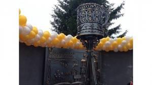 В Нижегородской области появился памятник подстаканнику