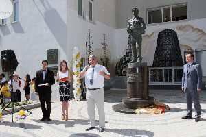В Самаре появился памятник российскому инженеру