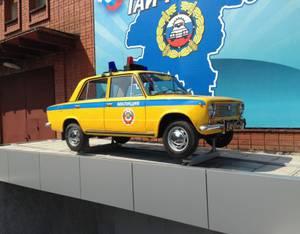 Памятник первому патрульному автомобилю появился в Кирове