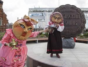 В Туле появился памятник прянику
