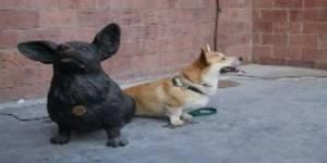 В Иркутске появился памятник маленькой собачке