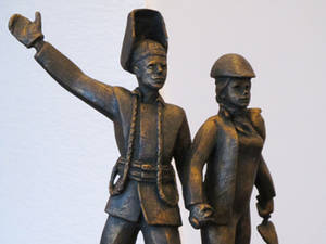 Памятником строителям Всесоюзных строек