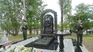 Установлен памятник генералу Г.А. Феодорову