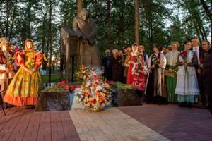 В Калуге прошло торжественное открытие памятника Николаю Гоголю