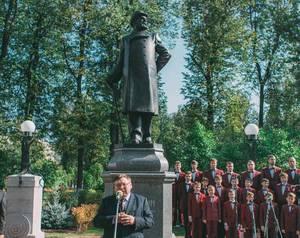 В Иванове открыли памятник Дмитрию Бурылину