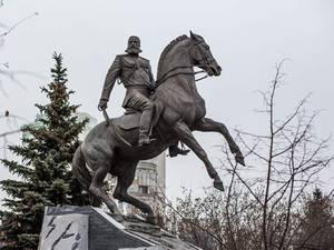 В Москве открыт памятник генералу Скобелеву
